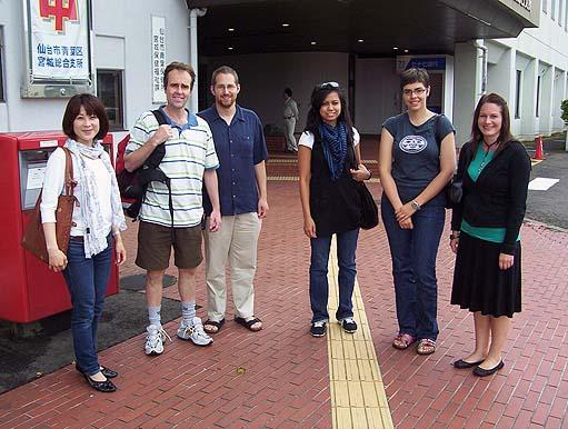 Hiromi, Jimmy, Nick, Mylene, Heather, Catherine